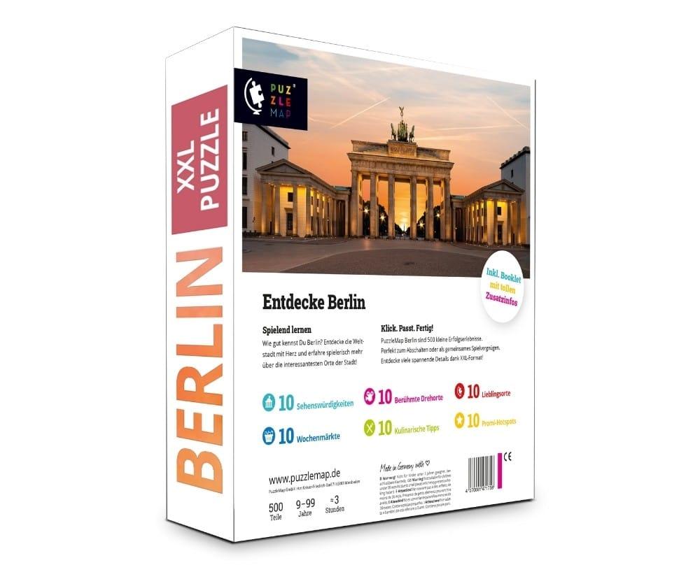 PuzzleMap Berlin Puzzle Box hinten