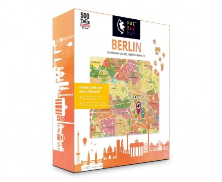 PuzzleMap Berlin Puzzle Box vorne