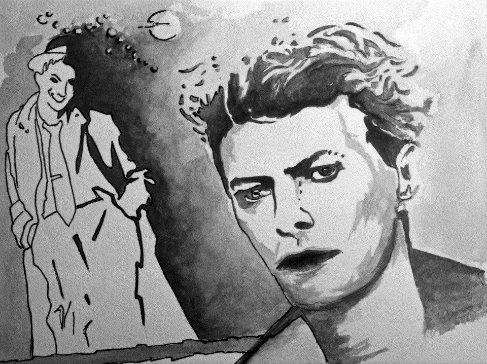David Bowie lebte in einer Kommune in Berlin