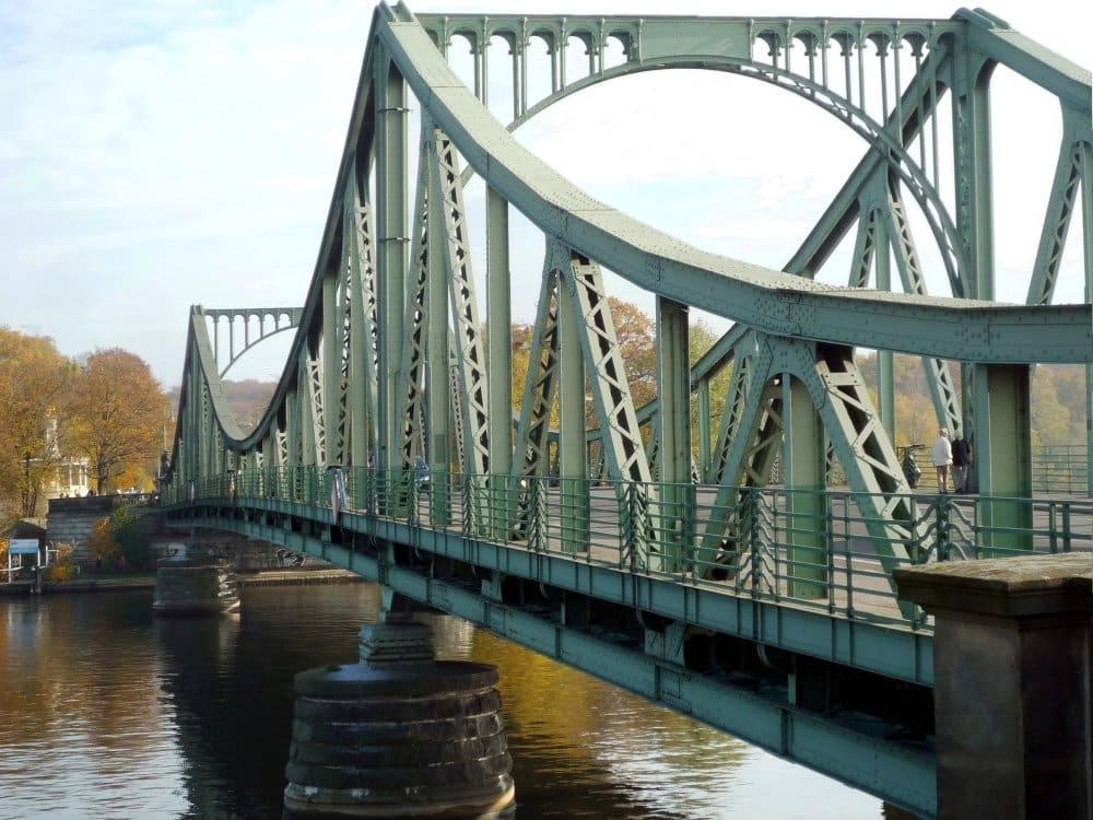 Glienicker Brücke in Berlin