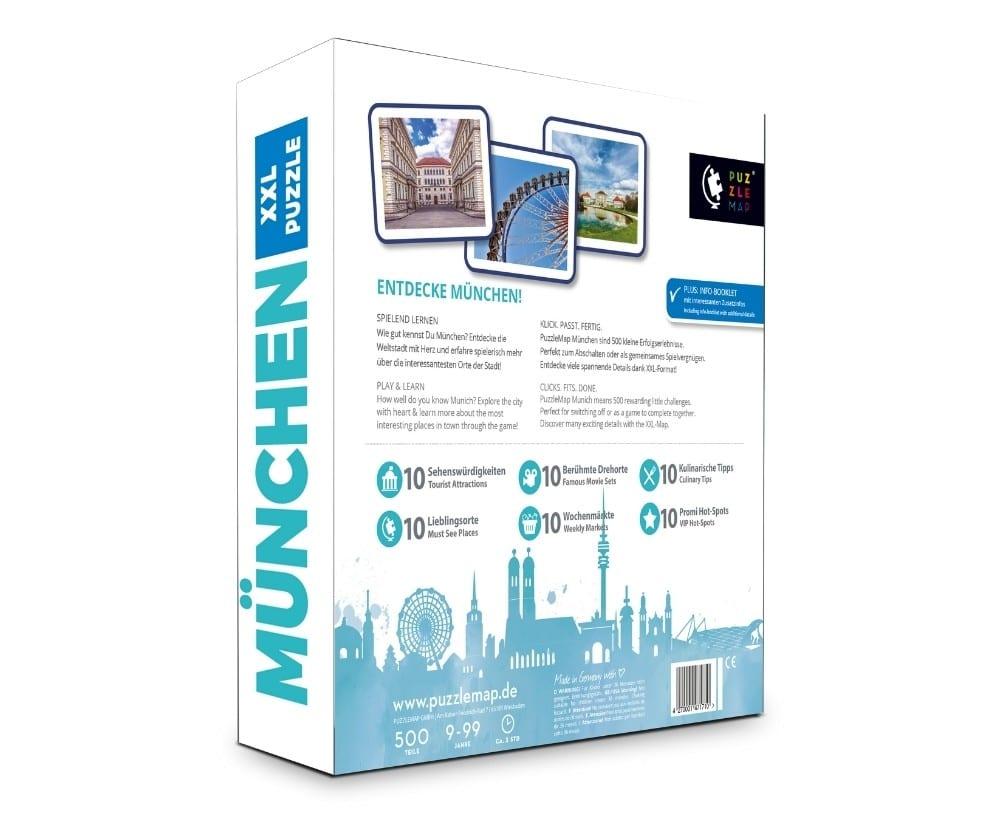 PuzzleMap München Puzzle Box hinten
