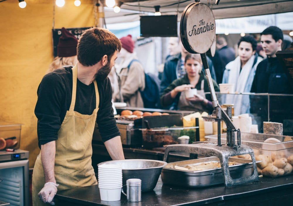 Wochenmarkt in Neukölln